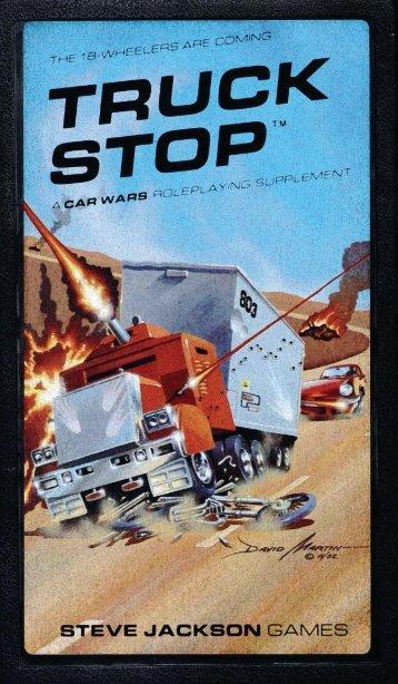 Car Wars Truck Stop - e23 - Steve Jackson Games