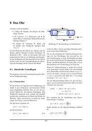 8 Das Ohr - Experimentelle Physik III
