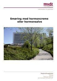 Smøring med hormoncreme eller salve.pdf - e-Dok