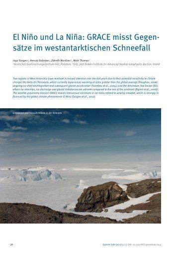 El Niño und La Niña: GRACE misst Gegen - E-Books Deutsches ...