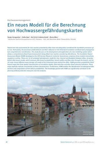 Ein neues Modell für die Berechnung von ... - ebooks - GFZ