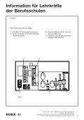 Information für Lehrkräfte  der Berufsschulen - Bosch - Seite 6