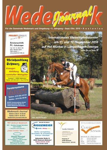 Sept/Okt 2010 - Wedemark Journal und Kulturjournal190