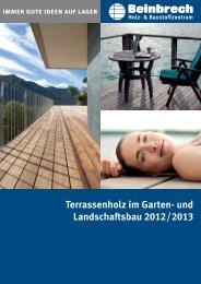 Terrassenholz im Garten- und Landschaftsbau 2012 ... - Beinbrech