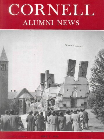 ALUMNI NEWS - eCommons@Cornell - Cornell University