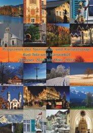 Programm der Tourismus- und Kurseelsorge Bad Tölz ... - Lenggries