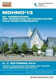 MdhnO'13 - cocs | congress organisation c. schäfer