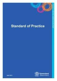 DETE code of conduct - standard of practice - Education Queensland