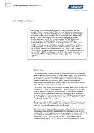 Halbjahresbericht 2013 - Schlatter