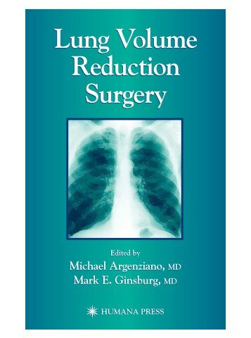 Lung Volume Reduction Surgery Lung Volume Reduction Surgery