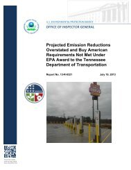 Report PDF - US Environmental Protection Agency