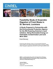 Feasibility Study of Anaerobic Digestion of Food Waste in St - US ...