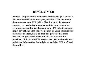 Reducing Wasted Food at Federal Facilities - US Environmental ...