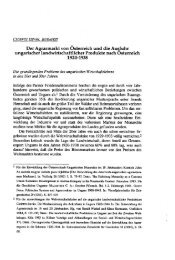 Der Agrarmarkt von Österreich und die Ausfuhr ungarischer ... - EPA