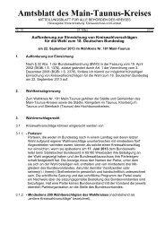 Amtsblatt des Main-Taunus-Kreises