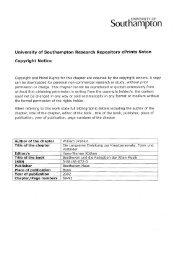 aLIt amptan - ePrints Soton - University of Southampton