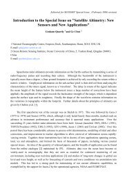 Introduction to the Special Issue on