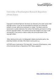 Download (6Mb) - ePrints Soton - University of Southampton