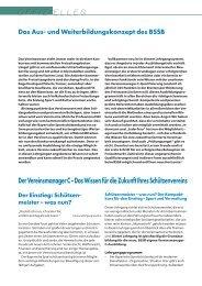 Der Vereinsmanager C –Das Wissen für die Zukunft Ihres ... - BSSB