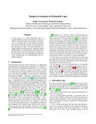 Temporal extensions to Defeasible Logic - UQ eSpace - University ...