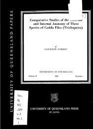 Comparative Studies of the - UQ eSpace - University of Queensland