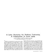 Confronting Lands the Problems of Crown Illustrating ... - UQ eSpace