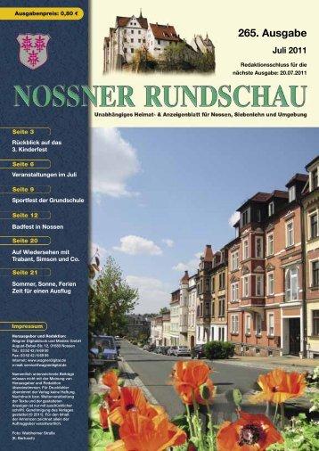 Juli 2011 - Nossner Rundschau