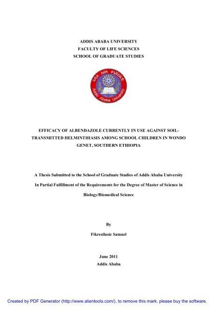 Fikireselassie Samuel pdf - Addis Ababa University