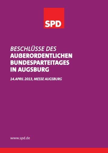 Beschlussbuch [ PDF , 4,6 MB ] - SPD