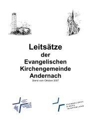 Leitsätze 2007 - Ev-kirche-andernach.de