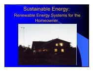 Sustainable Energy: