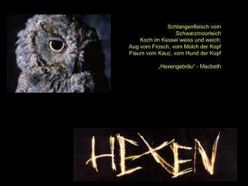 Hexenmedizin, Vortrag, pdf, 1.4 MB - Ever.ch