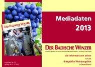 Mediadaten downloaden (PDF) - Badischer Weinbauverband e.V.
