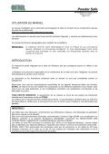 HOTTE POWDERSAFE - Fisher UK Extranet - Page 4