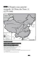 L'Empire sous autorité mongole : la Chine des Yuan ܗ ... - Hypotheses