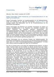 Pressemeldung Nanda - Bayern Kapital