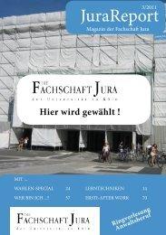 JuraReport_3_2011_web - Fachschaft Jura