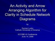 An Activity and Arrow Arranging Algorithm for Clarity in Schedule ...