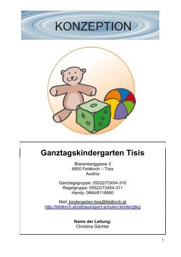 Ganztagskindergarten Tisis - Feldkirch