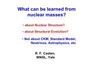 What can be learned from nuclear masses? - FIAS