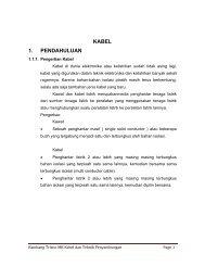 KABEL 1. PENDAHULUAN - File UPI