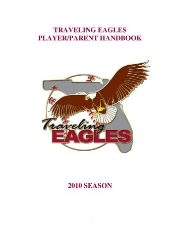 traveling eagles player/parent handbook 2010 ... - Sports Websites