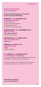 Kulturprogramm 2013 - Stadt Nürtingen - Seite 5