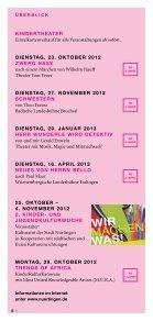 Kulturprogramm 2013 - Stadt Nürtingen - Seite 6