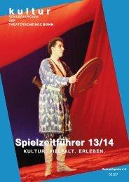 Anzeige - Theatergemeinde Bonn