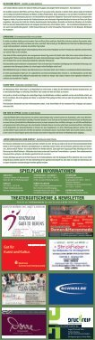 SPIELPLAN SPIELPLAN - Losemund Theater - Seite 2