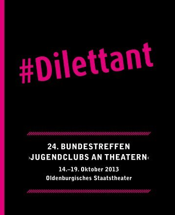 Programm zum Download! - Oldenburgisches Staatstheater