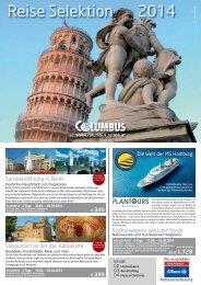 Reise Selektion 2014 - Columbus Reisen