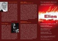 Felix Mendelssohn Bartholdy 3. November 2013, 17 Uhr - des MGV ...