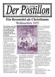 Ein Besenstiel als Christbaum - Evangelisches Perthes-Werk eV